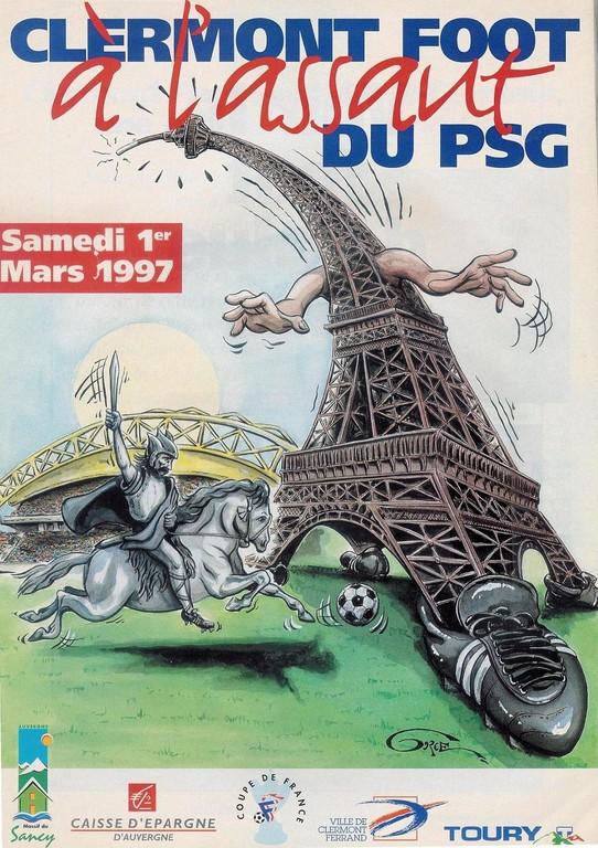 1997-03-01  Clermont Foot-PSG (8ème Finale CF)