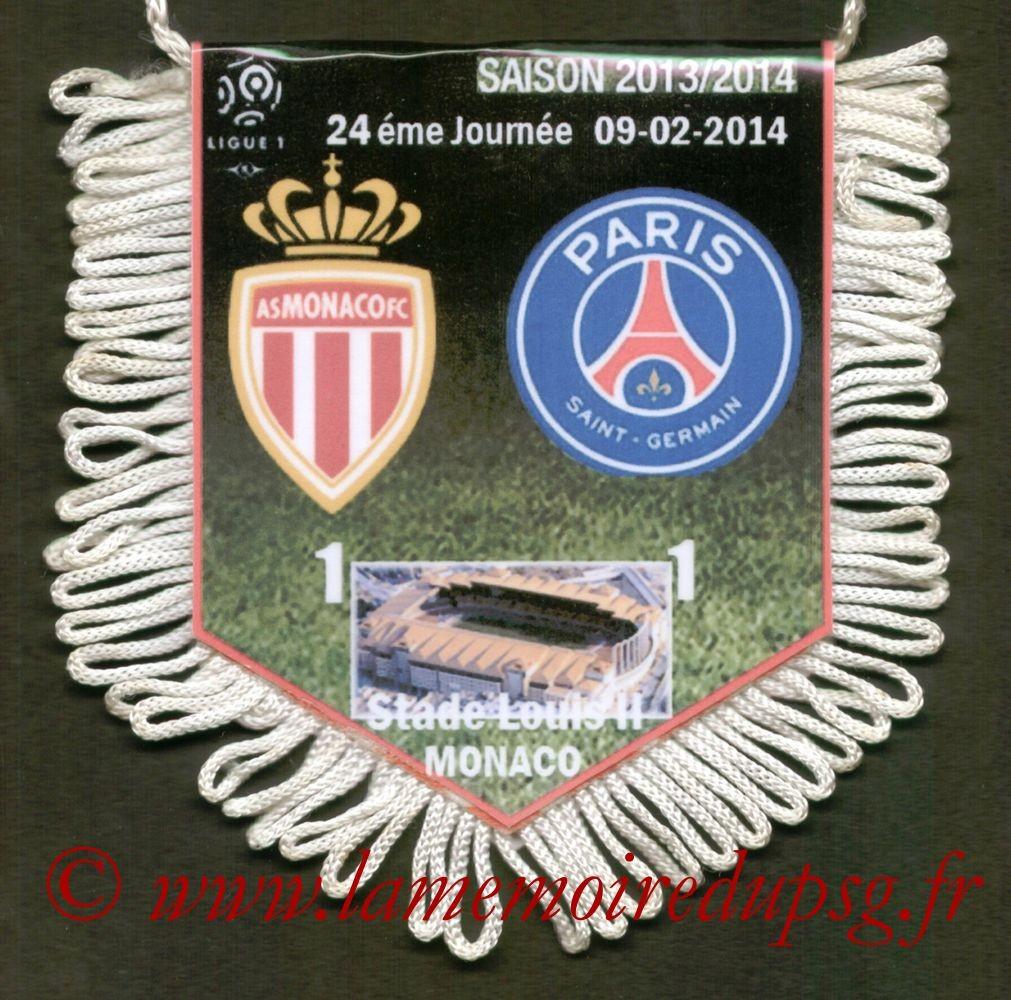 2014-02-09  Monaco-PSG (24ème L1)