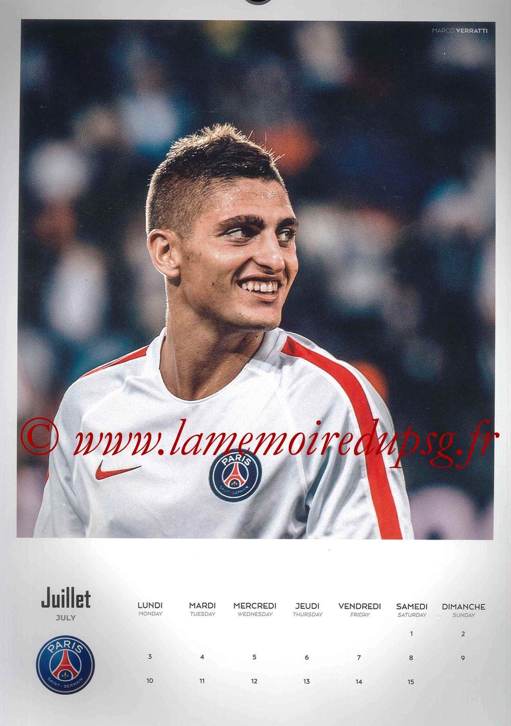 Calendrier PSG 2017 - Page 13 - Marco VERRATTI