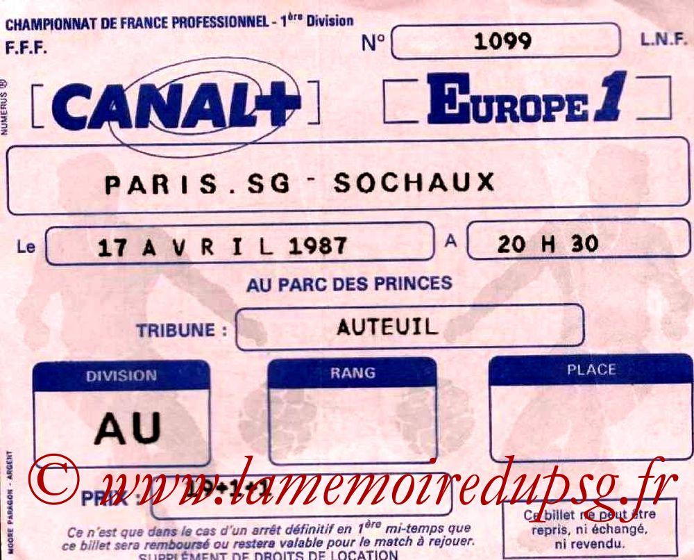 1987-04-17  PSG-Sochaux (32ème D1)