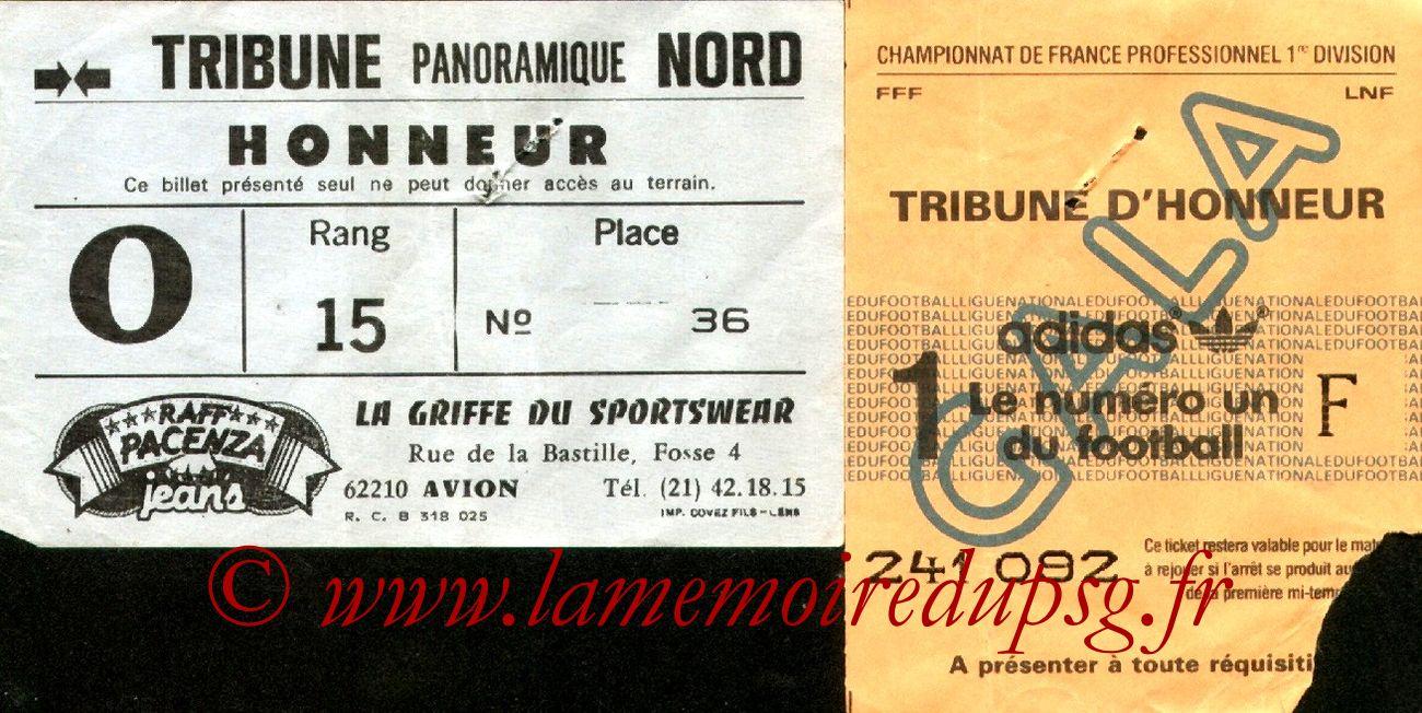 1983-12-10  Lens-PSG (22ème D1, Sans nom)