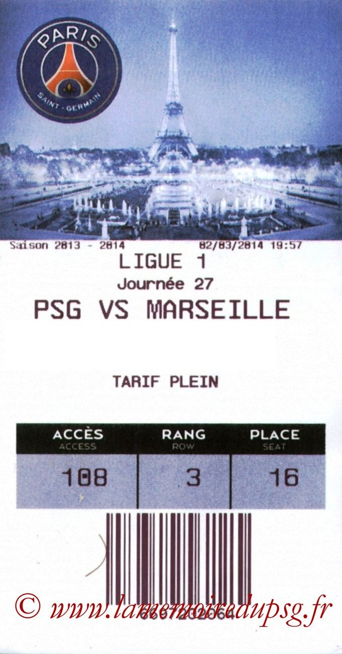 2014-03-02  PSG-Marseille (27ème L1, E-ticket)