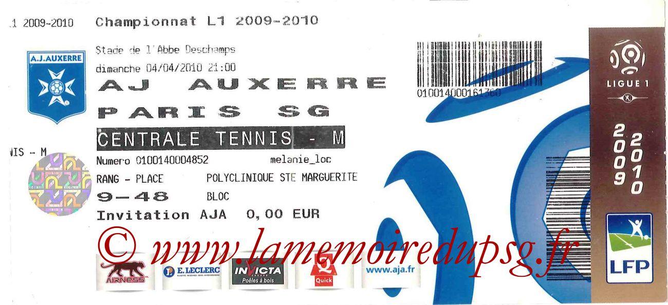 2010-04-04  Auxerre-PSG (31ème L1)