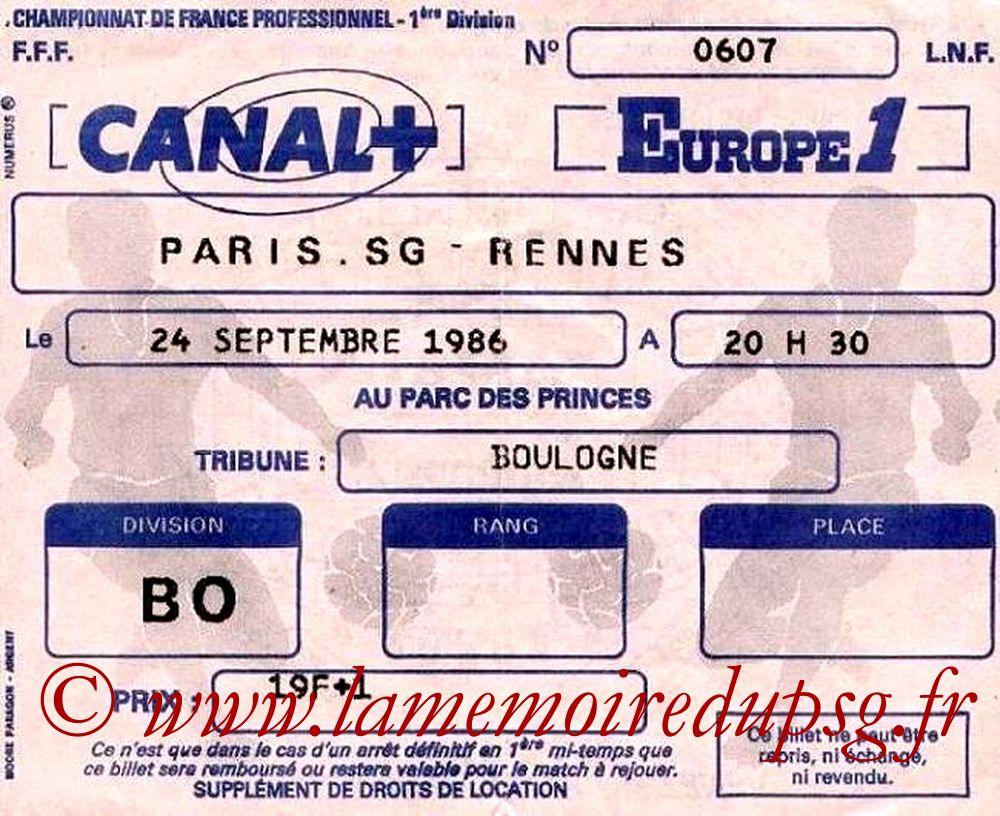 1986-09-24  PSG-Rennes (11ème D1)
