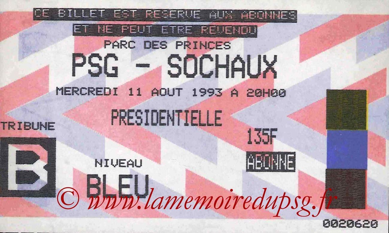 1993-08-11  PSG-Sochaux (4ème D1)