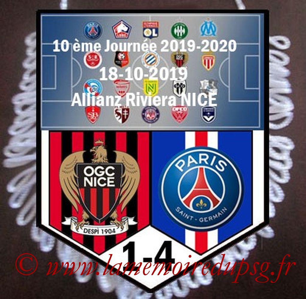 2019-10-18  Nice-PSG (10ème L1)