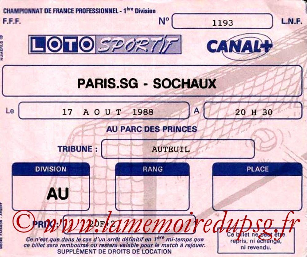 1988-08-17  PSG-Sochaux (7ème D1)