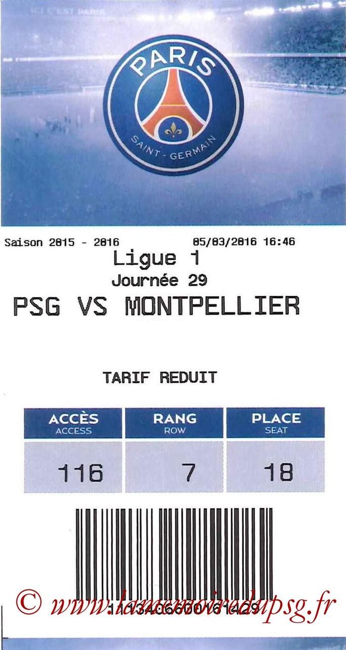2016-03-05  PSG-Montpellier (29ème L1, E-ticket)