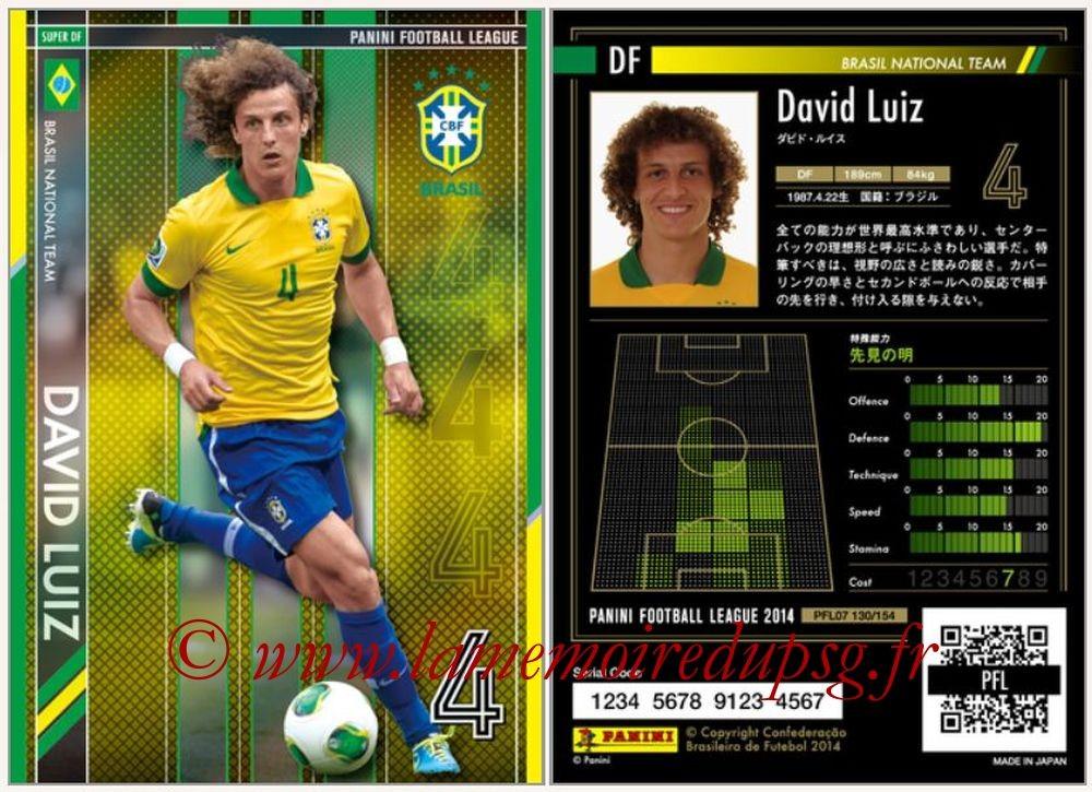 N° 130 - David LUIZ (2013-14, Brésil > 2014-??, PSG) (Super DF)