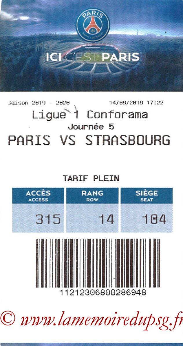 2019-09-15  PSG-Strasbourg (5ème L1, E-ticket)