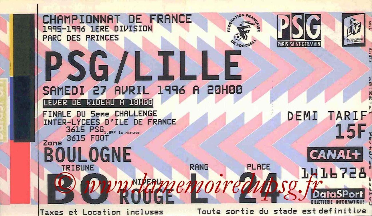 1996-04-27  PSG-Lille (36ème D1)