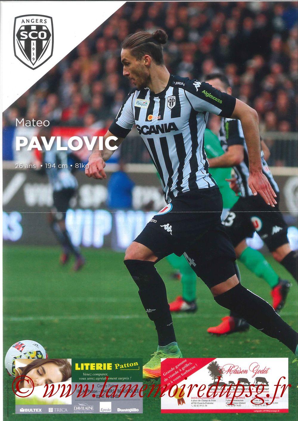 2017-04-14  Angers-PSG (33ème L1, Let's SCO N°17) - Page 2
