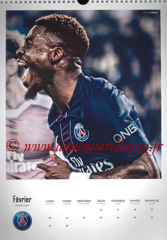 Calendrier PSG 2017 - Page 04 - Serge AURIER