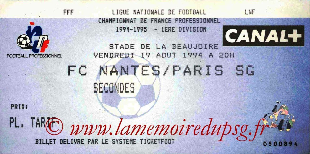 1994-08-19  Nantes-PSG (5ème D1)