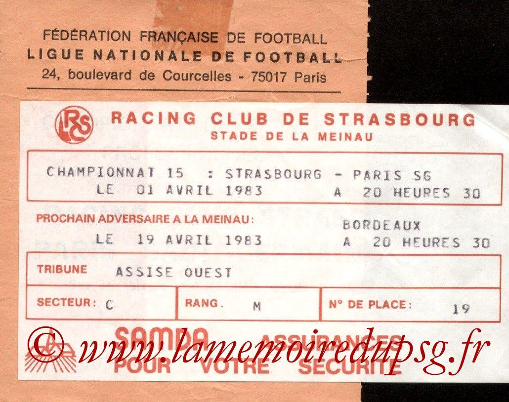 1983-04-01  Strasbourg-PSG (30ème D1)