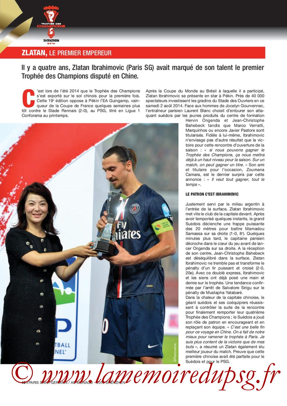 2018-08-04  PSG-Monaco (Trophée des Champions à Shenzhen, Dossier de Presse) - Page 10
