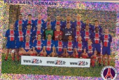 N° 254 et 255 - Equipe PSG