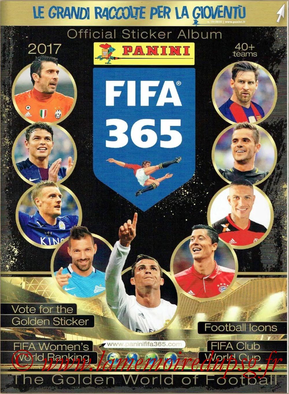 2016-17 - Panini FIFA 365 Stickers