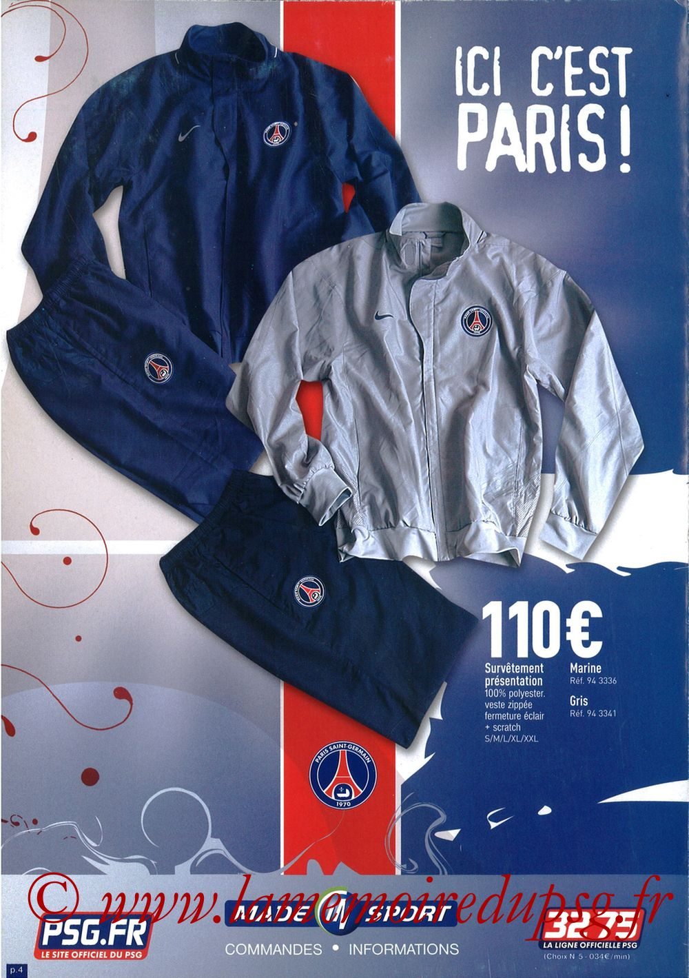 Catalogue PSG - 2007-08b - Page 04
