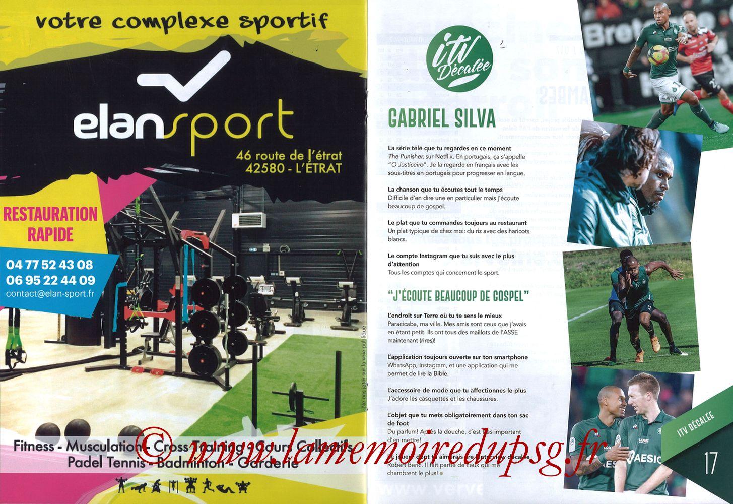 2019-02-17  Saint Etienne-PSG (25ème L1, Maillot Vert N° 13) - Pages 16 et 17