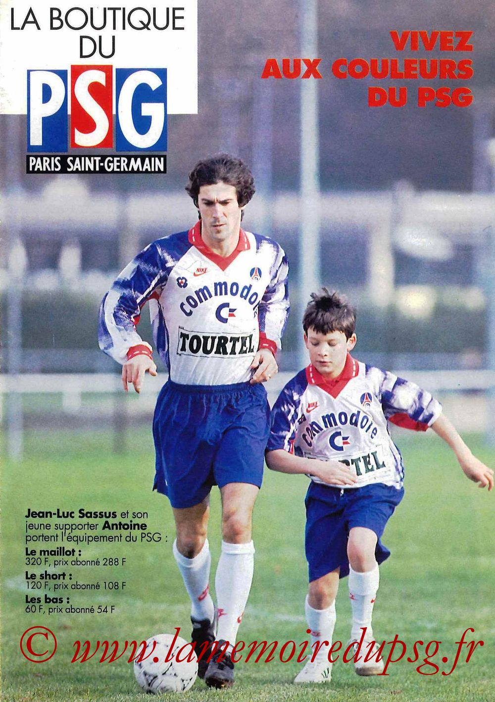 Catalogue PSG - 1992-93