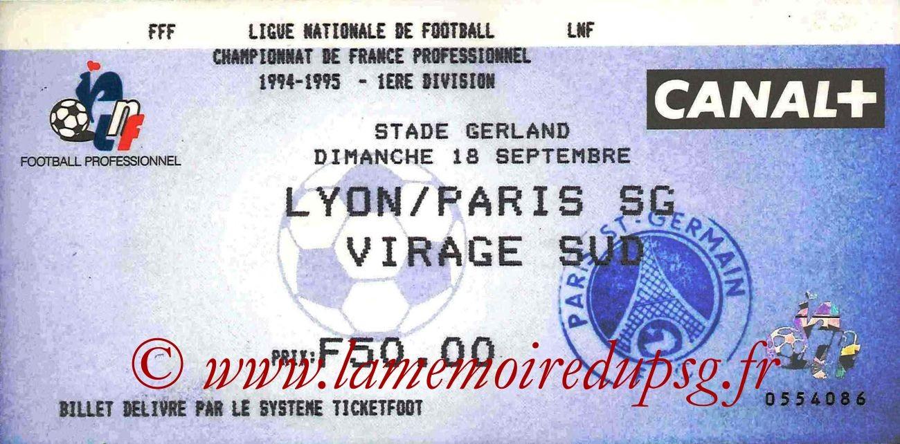 1994-09-18  Lyon-PSG (9ème D1)