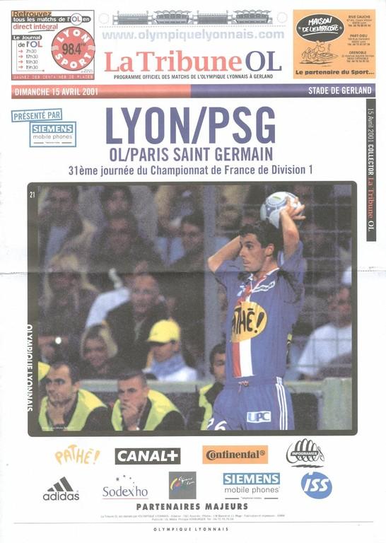 2001-04-15  Lyon-PSG (31ème D1, La tribune OL)