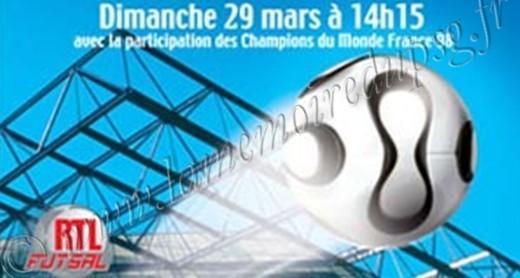 2009-03-29  RTL Futsal à Bercy (Affiche, Programme manquant)