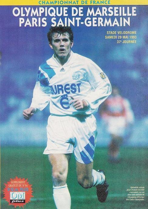 1993-05-29  Marseille-PSG (37ème D1, Supplément OM Plus N° 94)