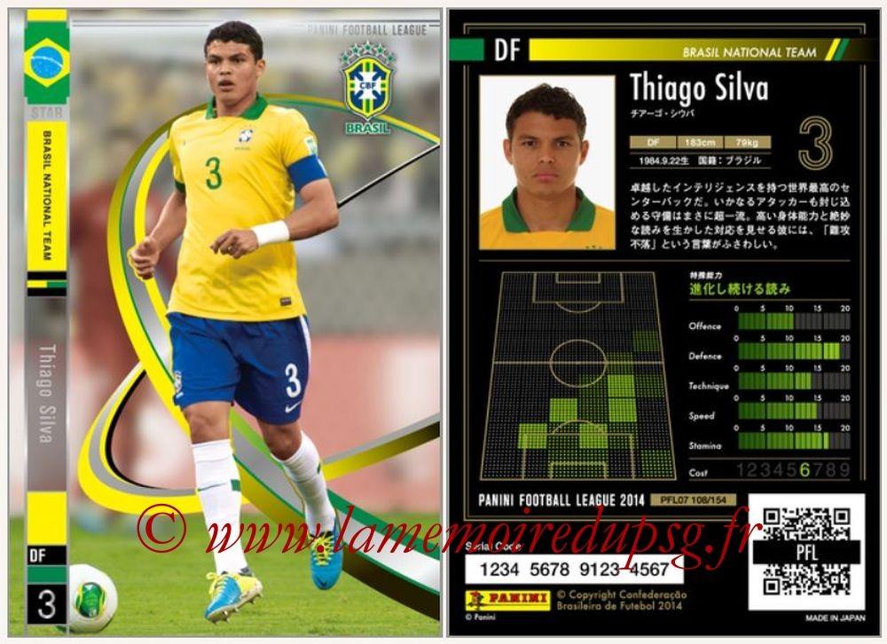 N° 108 - Thiago SILVA (2012-??, PSG > 2014, Brésil) (Star)