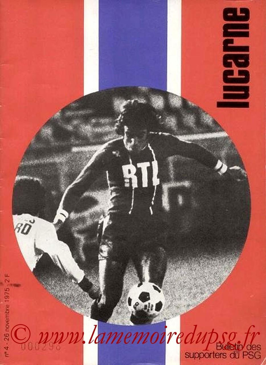 1975-11-26  PSG-Nantes (16ème D1, Lucarne N°4)
