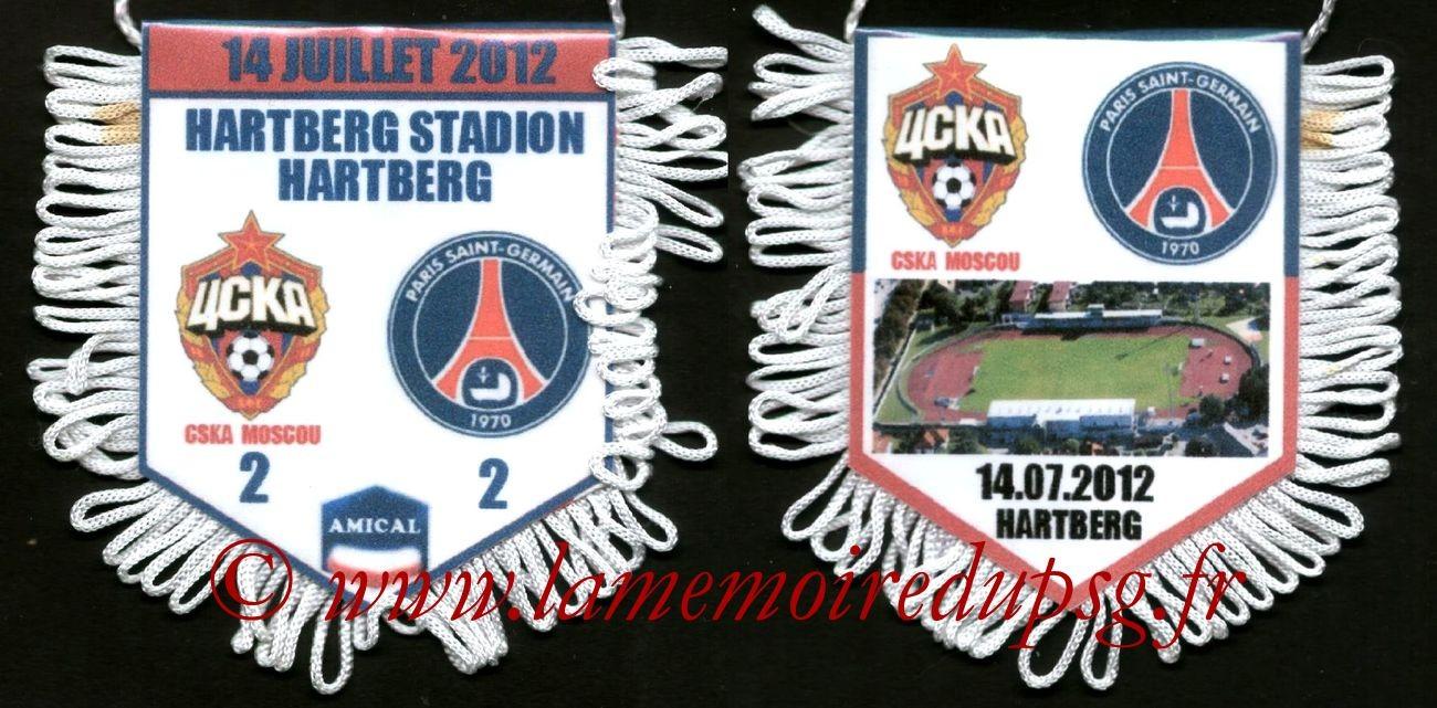 2012-07-14  CSKA Moscou-PSG (Amical à Hartberg)