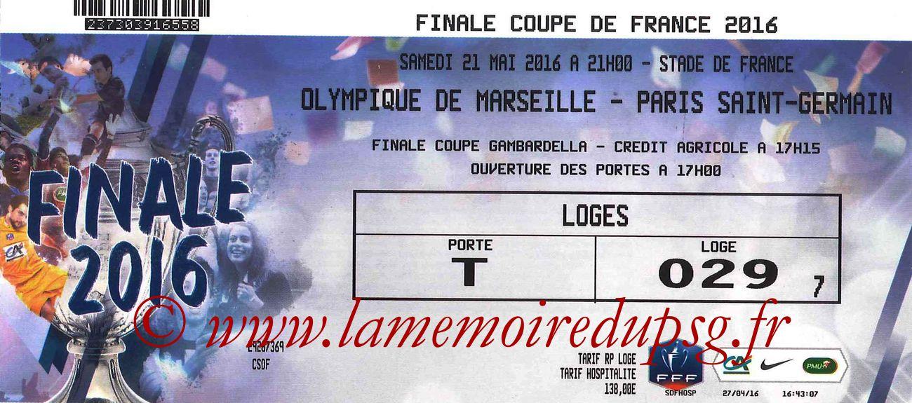 2016-05-21  PSG-Marseille (Finale CF à Saint-Denis)