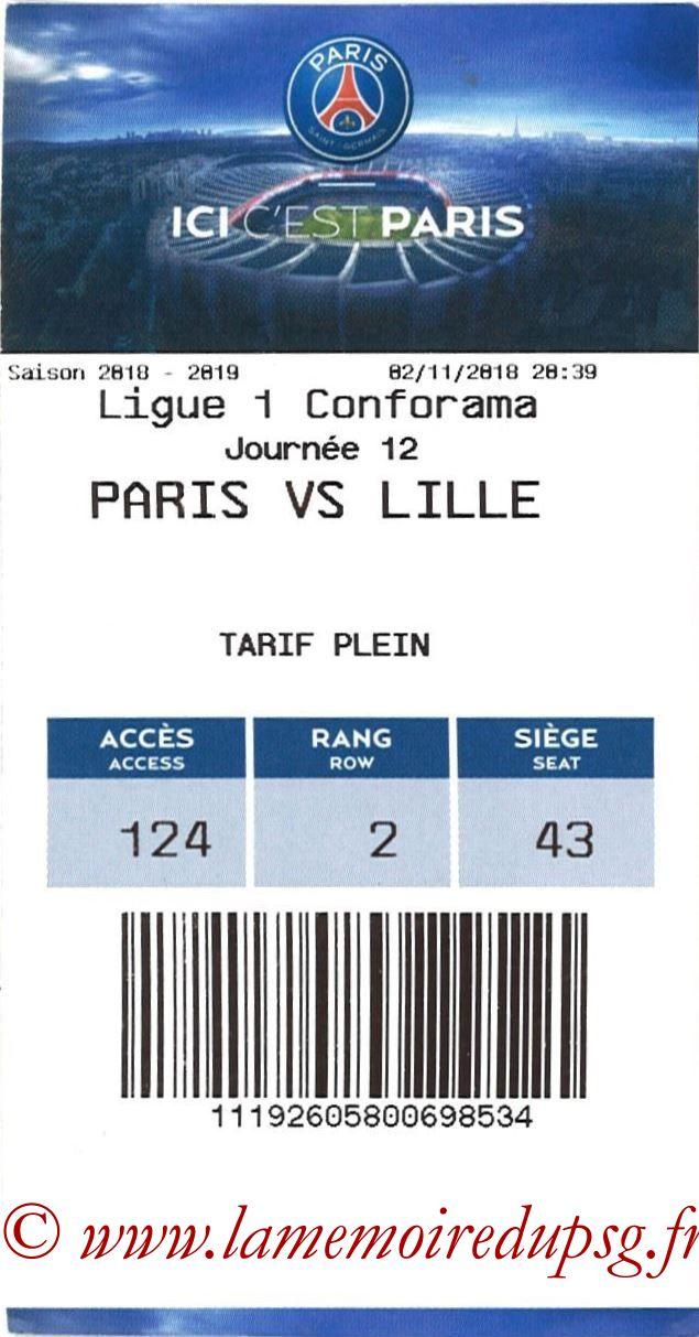 2018-11-02  PSG-Lille (12ème L1, E-ticket)
