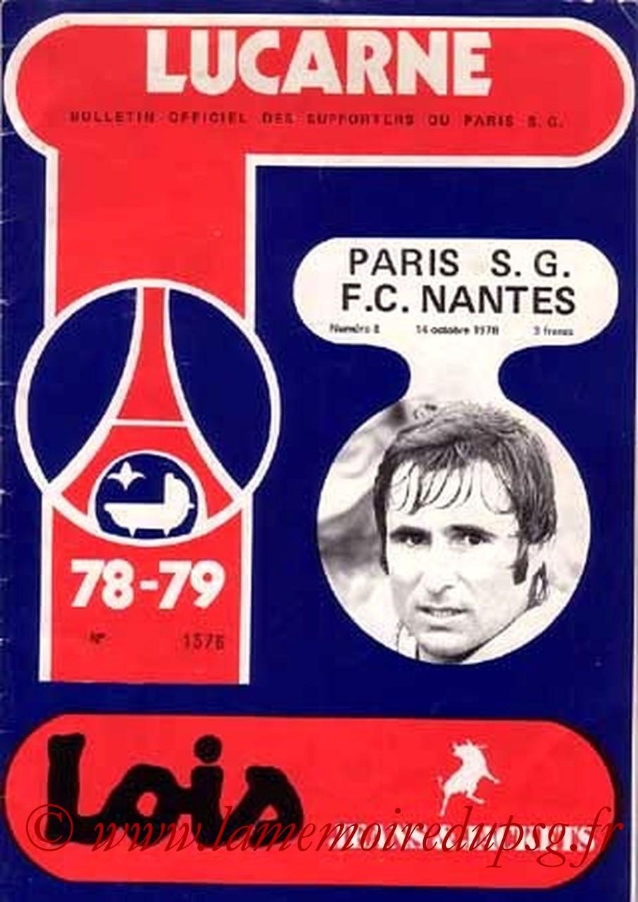 1978-10-14  PSG-Nantes (15ème D1, Lucarne N°8)