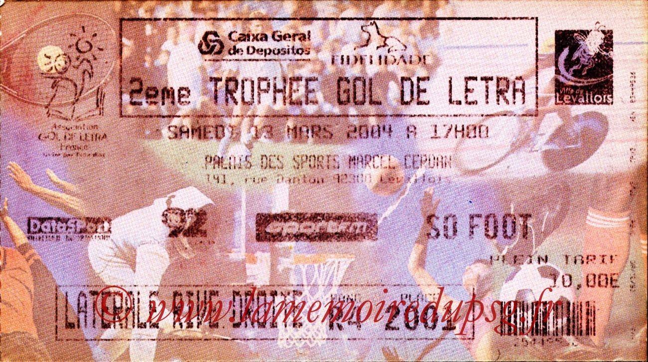 2004-03-13   2eme Gol de Lettra (Amical à Levallois-Perret)