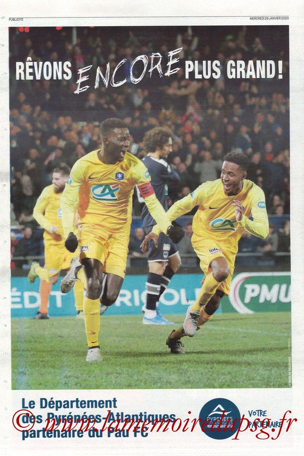 2020-01-29  Pau-PSG (8ème CF, Pyrenees Sports) - Page 12