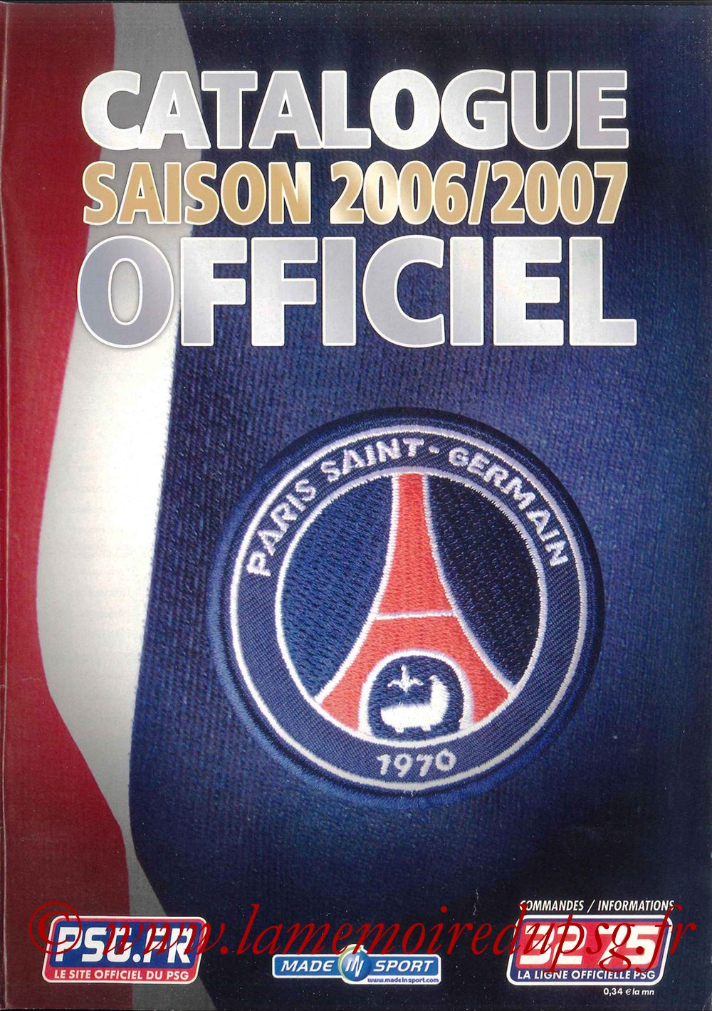 Catalogue PSG - 2006-07