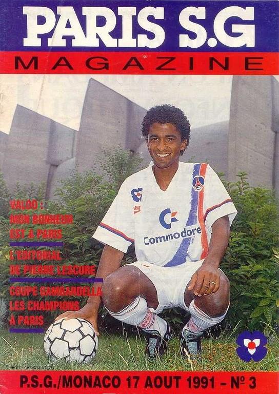 1991-08-17  PSG-Monaco (6ème D1, Paris SG Magazine N°3)