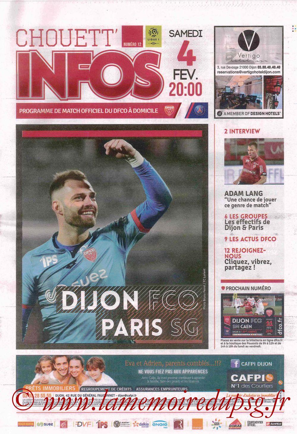 2017-02-04  Dijon-PSG (23ème L1, Chouett' Info N°12)