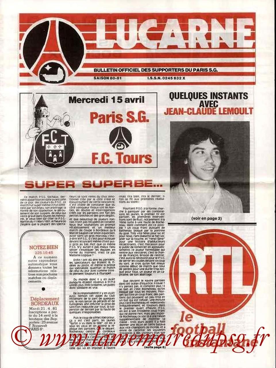 1981-04-15  PSG-Tours (32ème D1, Lucarne)