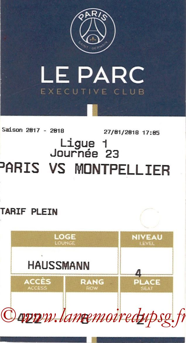 2018-01-27  PSG-Montpellier (23ème L1, E-ticket Executive club)
