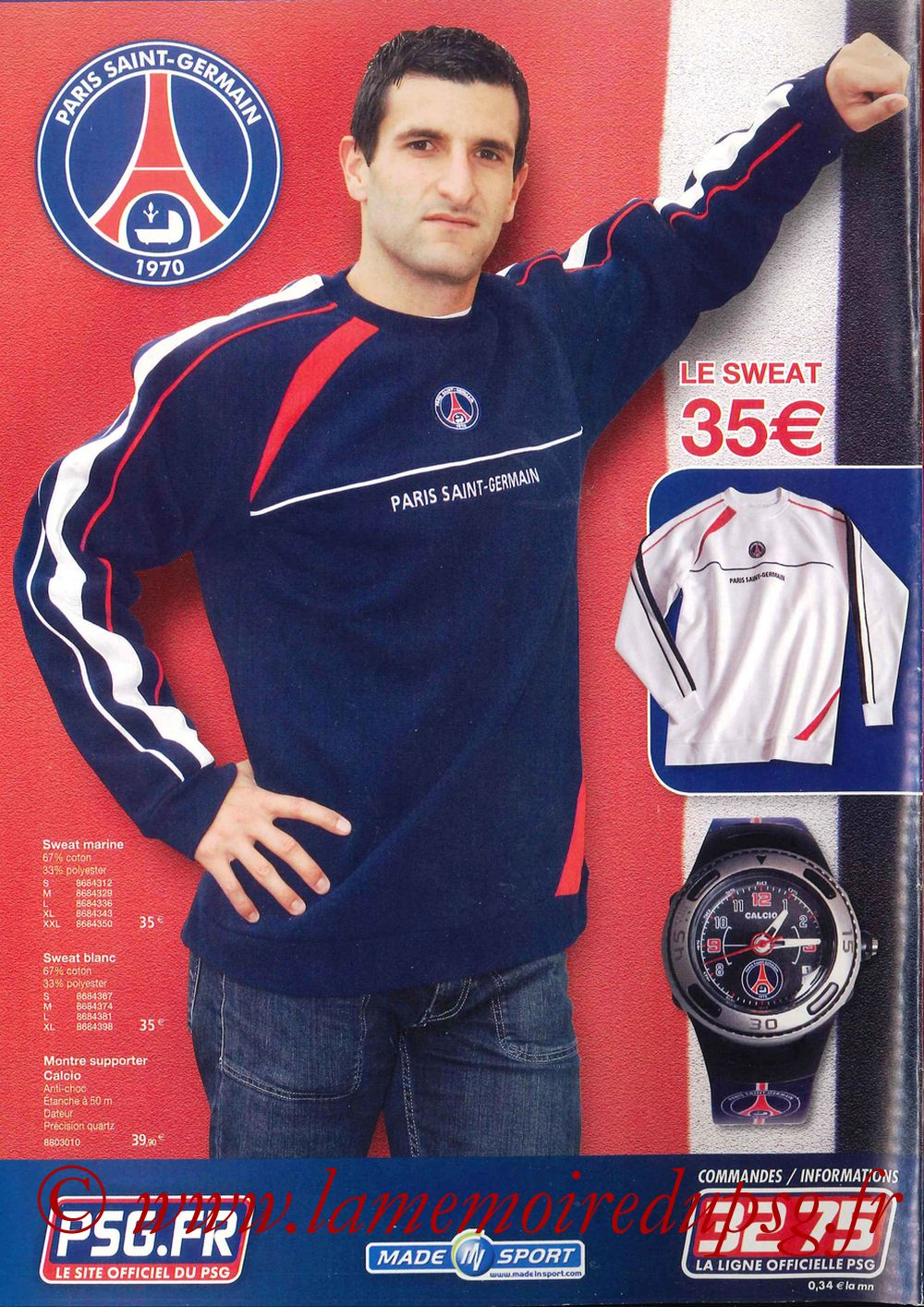 Catalogue PSG - 2006-07 - Page 24