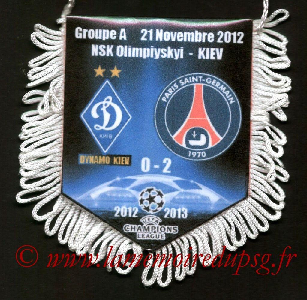2012-11-21  Dynamo Kiev-PSG (5ème Poule C1)