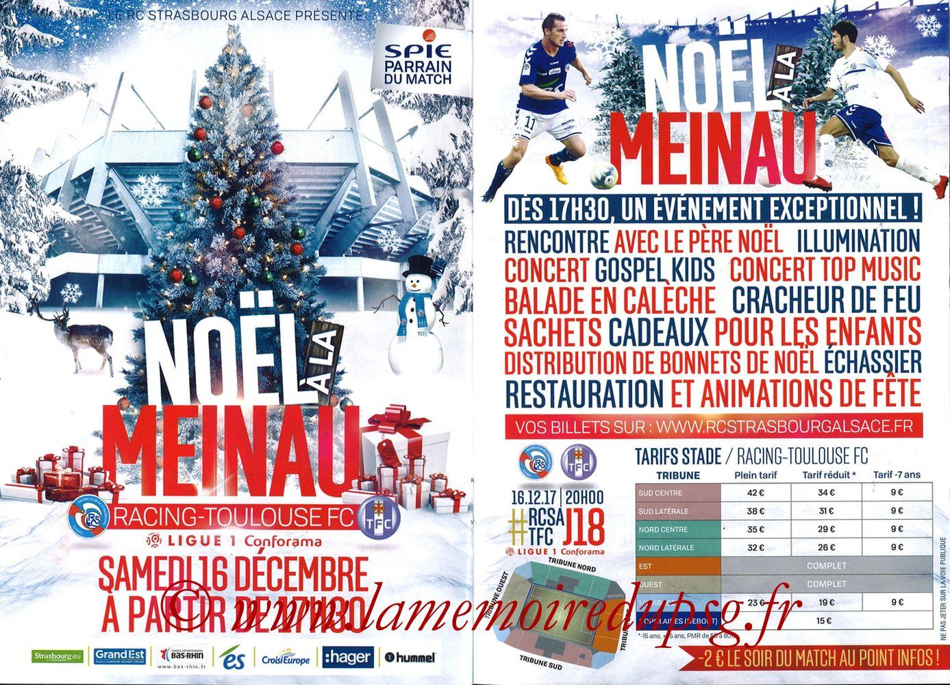 2017-12-02  Strasbourg-PSG (16ème L1, Passion Racing N°7) - Pages 14 et 15
