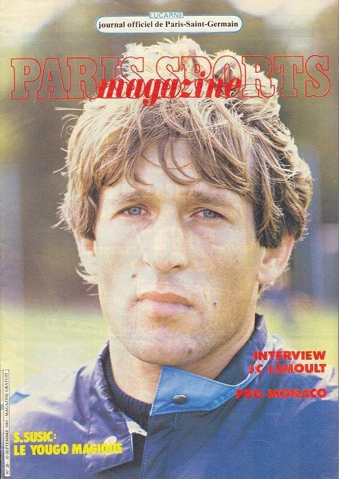 1983-09-10  PSG-Monaco (8ème D1, Paris Sports Magazine N°20)