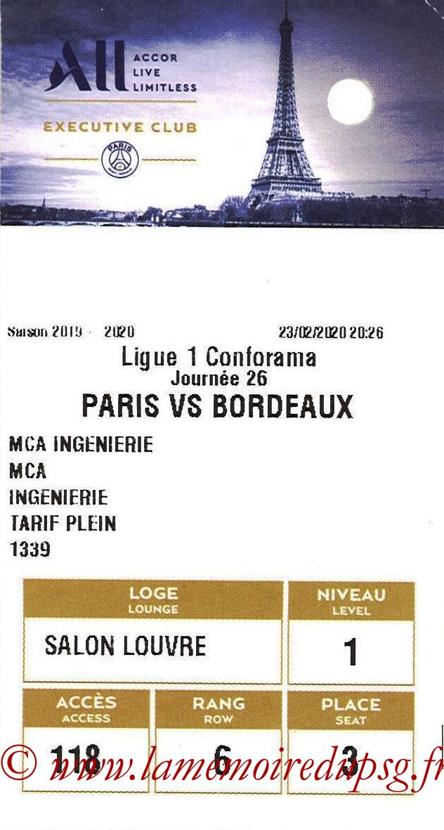 2020-02-23  PSG-Bordeaux (26ème L1, E-ticket Executive club)