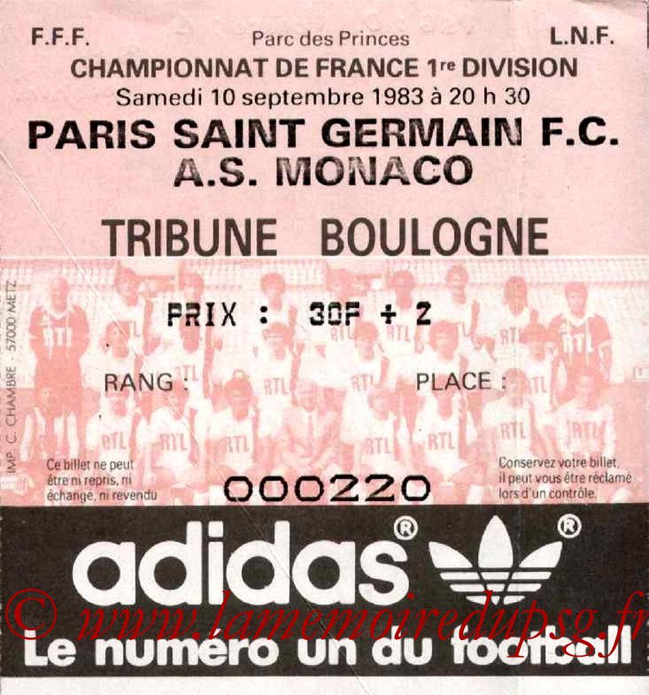 1983-09-10  PSG-Monaco (8ème D1)