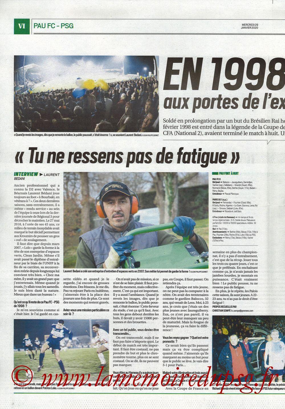 2020-01-29  Pau-PSG (8ème CF, Pyrenees Sports) - Page 06