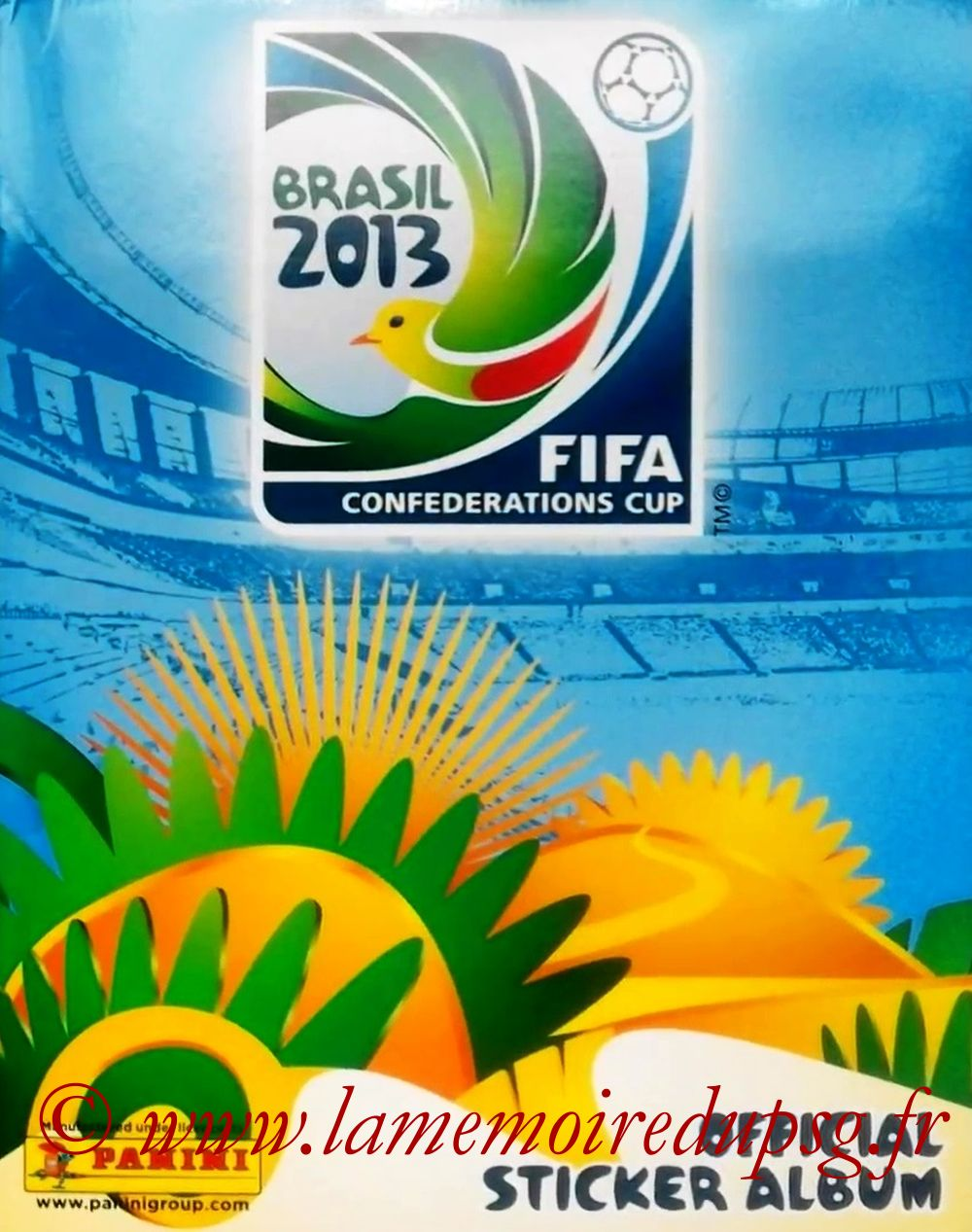 2013 - Panini Confederations Cup Brasil Stickers